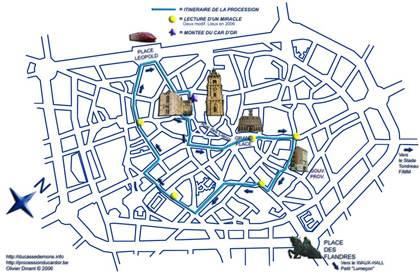 Groupes constituant la procession du car d 39 or le dimanche de la trinit - Importance du doudou ...